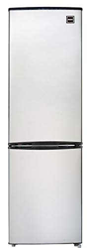 RCA RFR9004 Cubic Foot Fridge with Bottom Mount Freezer, 9.2 cu. ft, Stainless