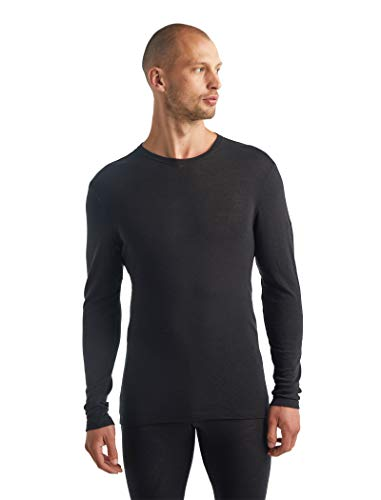 Icebreaker Merino Mens 175 Everyday Long Sleeve Thermal Cold Weather Base Layer T-Shirt