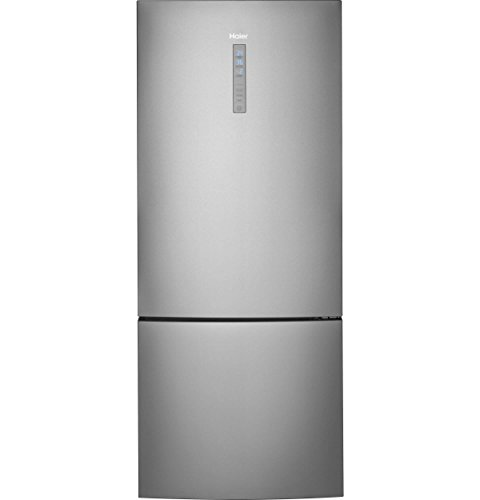 Haier HRB15N3BGS 15 cu. ft. Bottom Mount Refrigerator with Quick Cool and Quick Freeze in Stainless Steel
