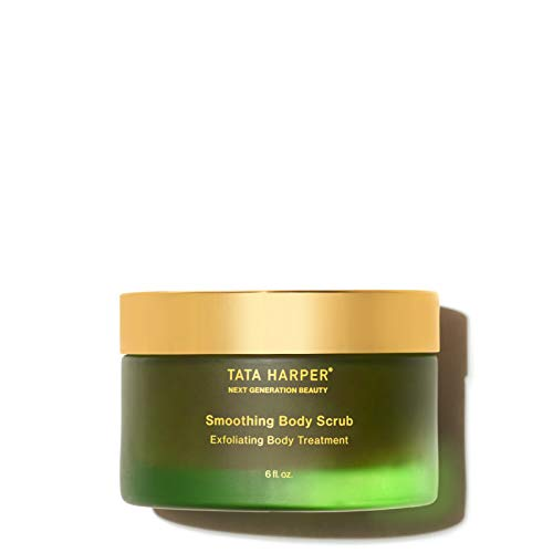NEW Tata Harper Smoothing Body Scrub, Hydrating & Brightening Exfoliator, 100% Natural, Made Fresh in Vermont, 180ml