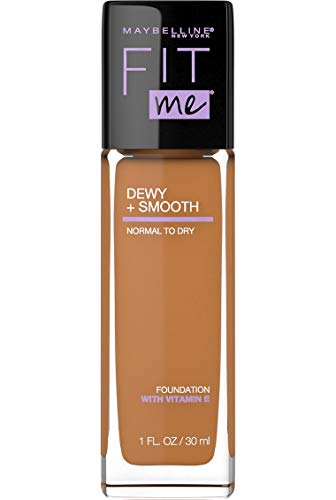 Maybelline New York Fit Me Dewy + Smooth Foundation, Coconut, 1 Fl. Oz (Pack of 1) (Packaging May Vary)