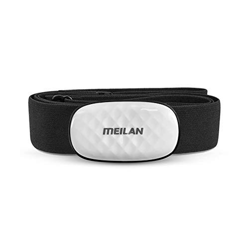 MEILAN C5 Heart Rate Sensor Chest Strap Fitness Tracker HR Monitor Bluetooth/ANT+ Wireless for iOS, Android and Bike Computers