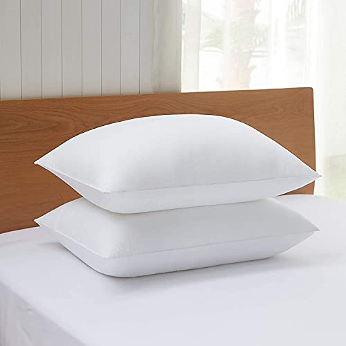 Acanva Bed Pillows for Sleeping, Standard 20x26-2P, White