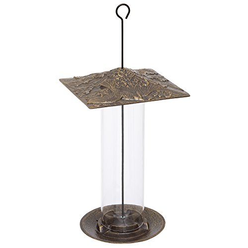 Whitehall Products Cardinal Tube Feeder, 12-Inch, French Bronze