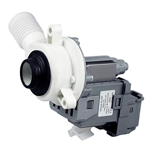 Techecook W10276397 Washer Drain Pump - Compatible with Ken-more Whirl-pool Washing Machine- Replacement for 1874334, AP6018417, PS11751719, EAP11751719