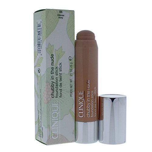 Clinique Chubby In The Nude Foundation Stick 06 Ivory, 0.21 Ounce