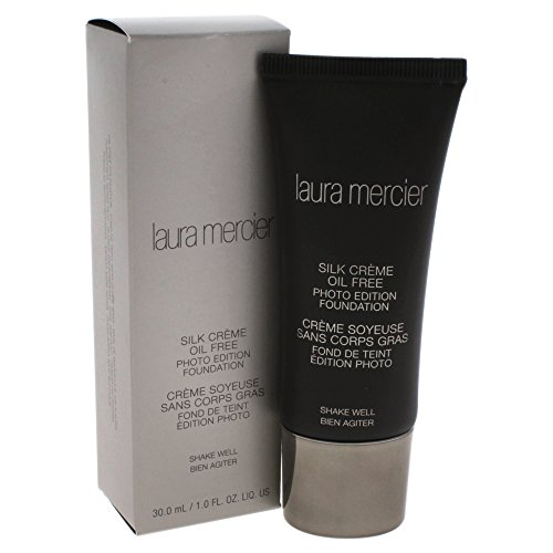 Laura Mercier Silk Cream Oil-free Photo Edition Foundation, Cream Ivory, 1 Fl Oz