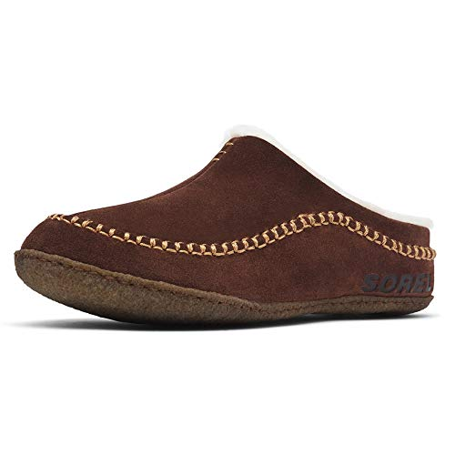 Sorel Men's Open-Back Slippers, Tobacco, 6.5