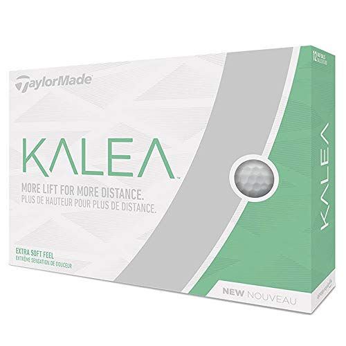 TaylorMade Kalea Golf Balls, White (One Dozen)
