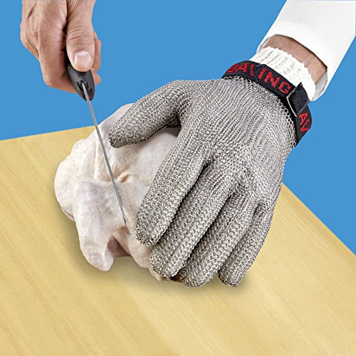 Stainless Steel Mesh Hand Glove - Cut Resistant (XS)