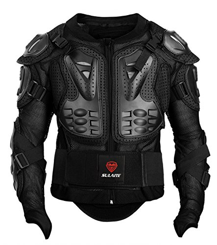 GuTe Motorcycle Protective Jacket,Sport Motocross MTB Racing Full Body Armor Protector for Men (3XL)
