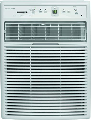 Frigidaire FFRS1022R1 10000 BTU 115-volt Slider/Casement Room Full-Function Remote Control Window Air Conditioner, 10,000, White