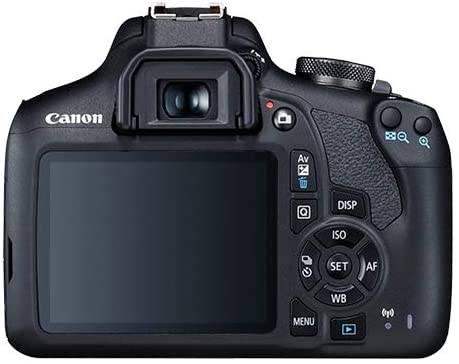 Canon EOS 2000D : Rebel T7 Digital SLR Camera Body w:Canon EF-S 18-55mm f:3.5-5.6 Lens 3 Lens DSLR Kit Bundled with Complete Accessory Bundle + 64GB + Flash + Case & More - International Model 2