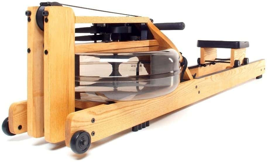 WaterRower Natural Rowing Machine w: S4 Monitor & Hi Rise Attachment
