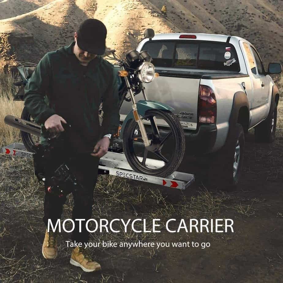 Motorcycle Hitch Carriers