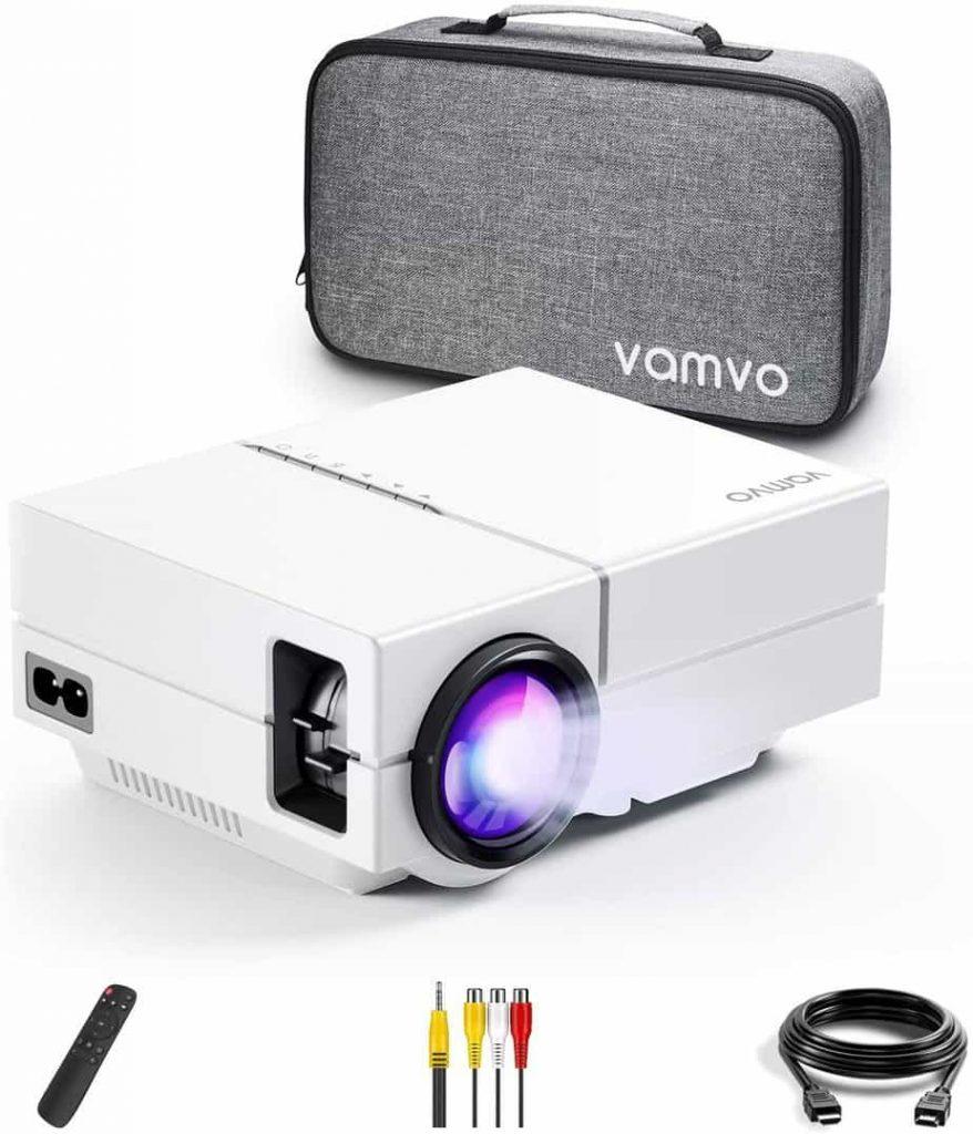 Vamvo Movie Projector, Portable Projector