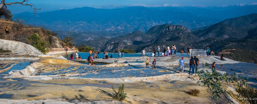 Hierve el Agua in the Sierra Madre Mountains of Oaxaca, Mexico