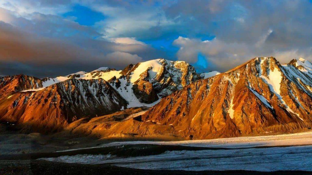 Altai Bogd National Park in Mongolia