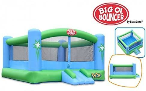 Blast Zone Big Ol Bouncer - Inflatable Bounce House with Blower