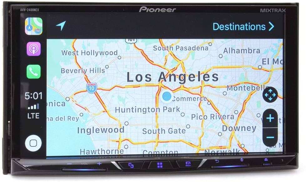 Pioneer AVH-2400NEX 7 Touchscreen Double Din Android Auto and Apple CarPlay 2