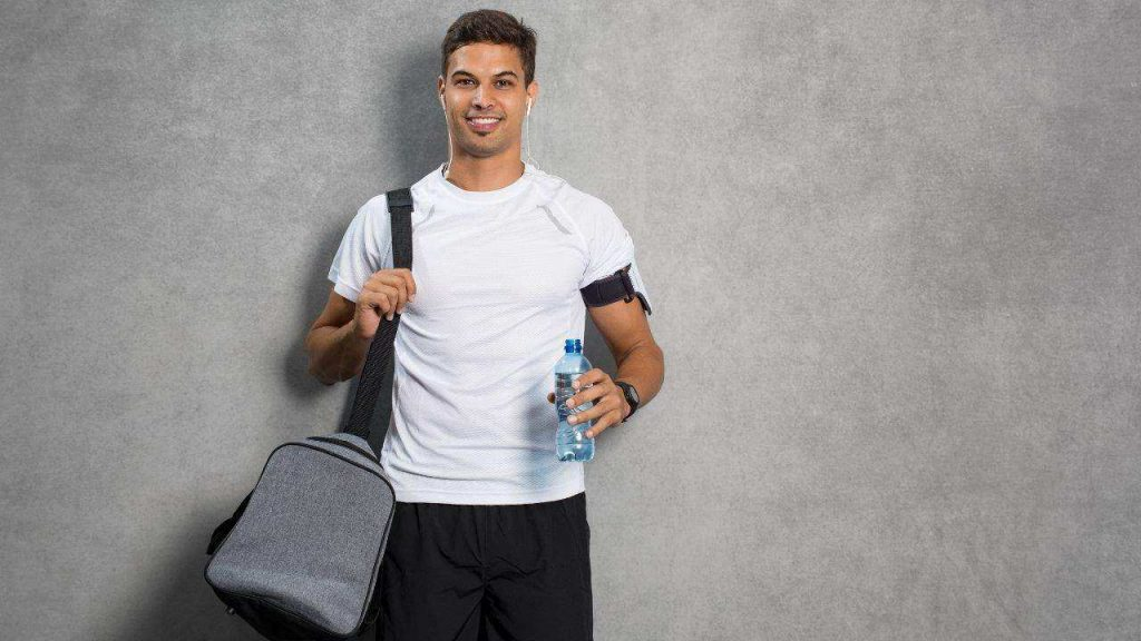 Working Out gym bag
