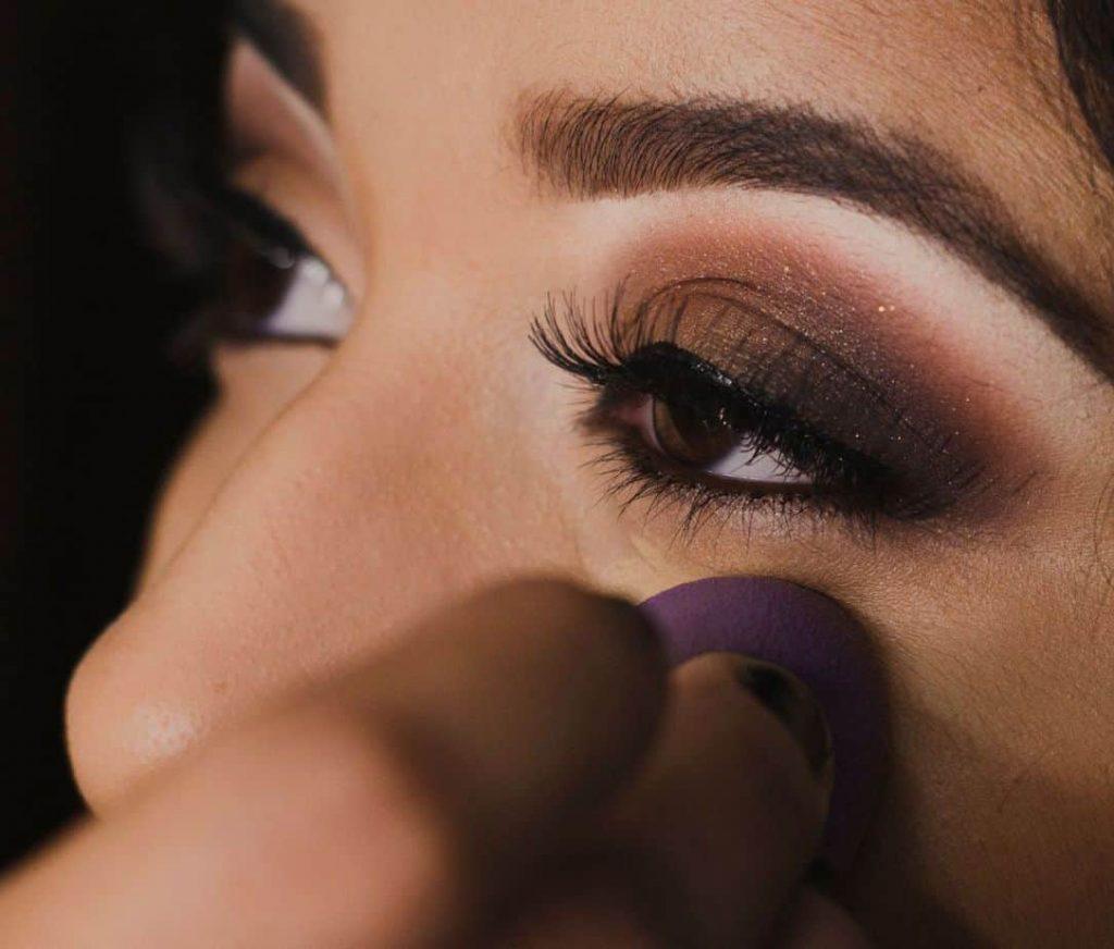 brown eyes eye shadow