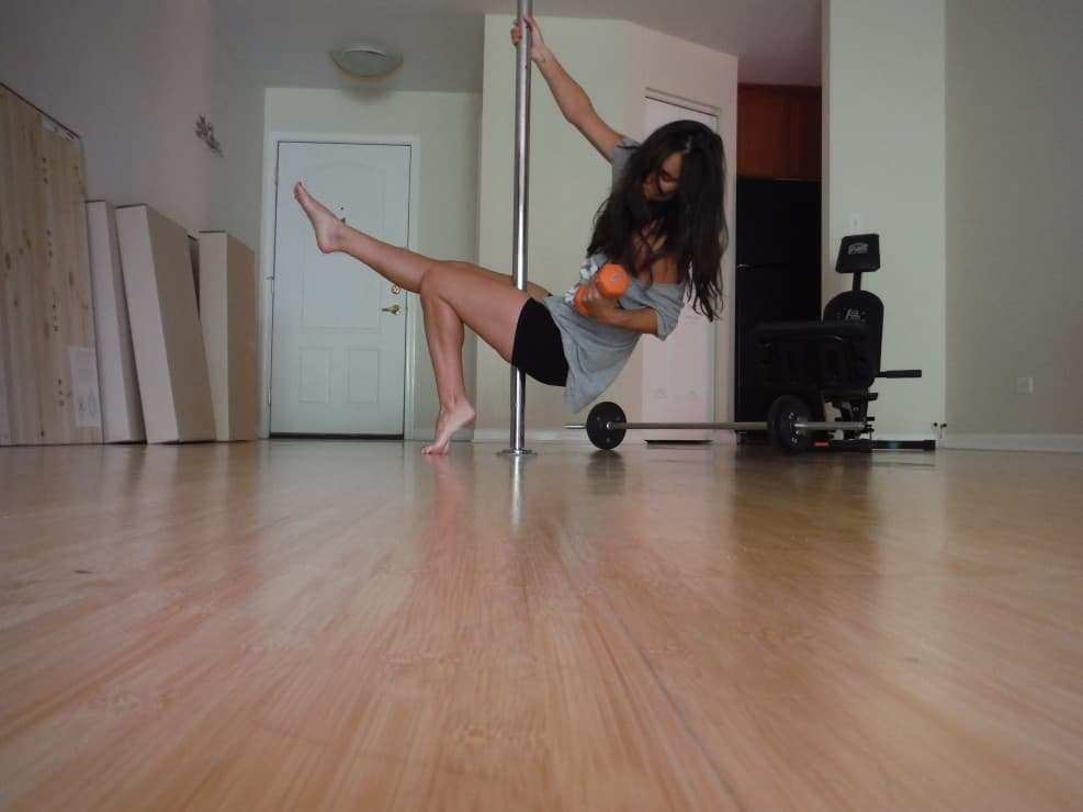 pole fitness at home