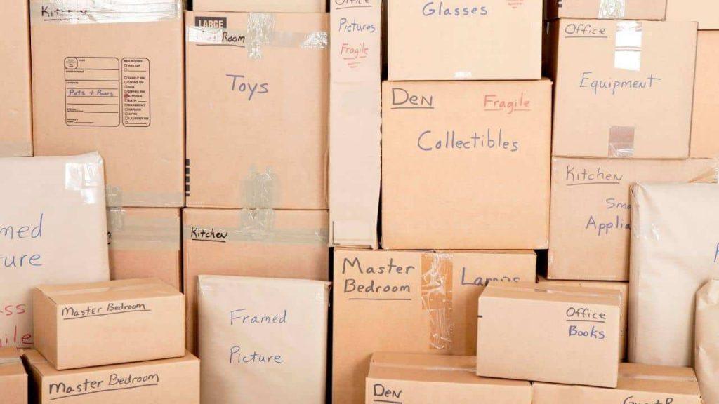 moving label box