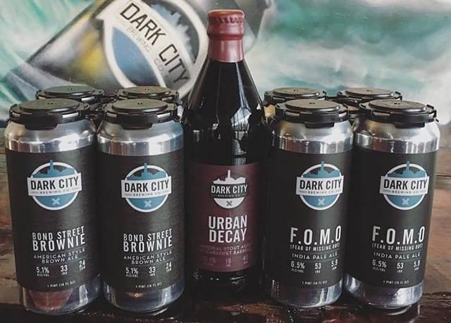 Dark City Brewing Company Populous