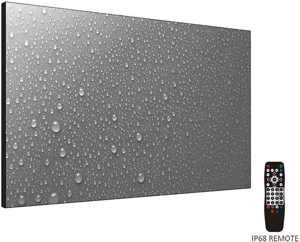 Elecsung 32inch Smart Mirror TV for Bathroom