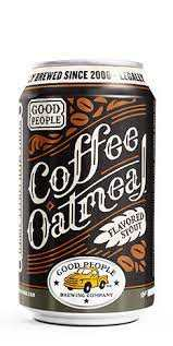 Good People Brewing Coffee Oatmeal Stout