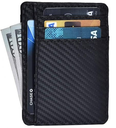 Minimalist Carbon Fiber Wallets for Men