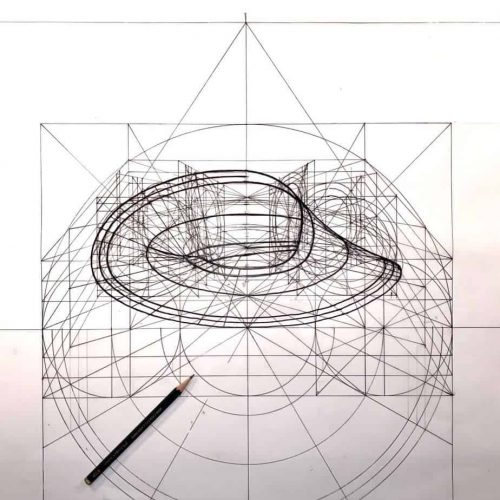 the golden geometry coloring book