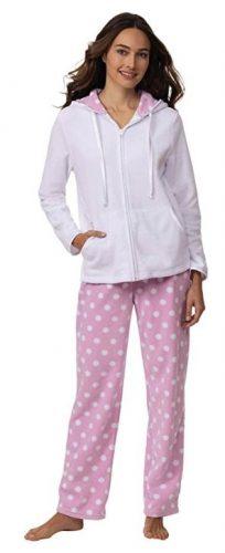 PajamaGram Snuggle Fleece Pajamas Women