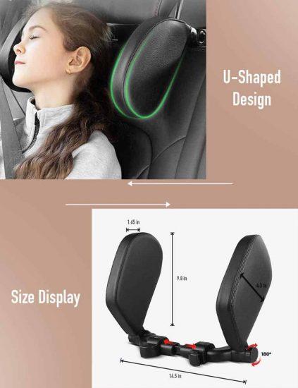 BNT Car Seat Headrest Pillow 2