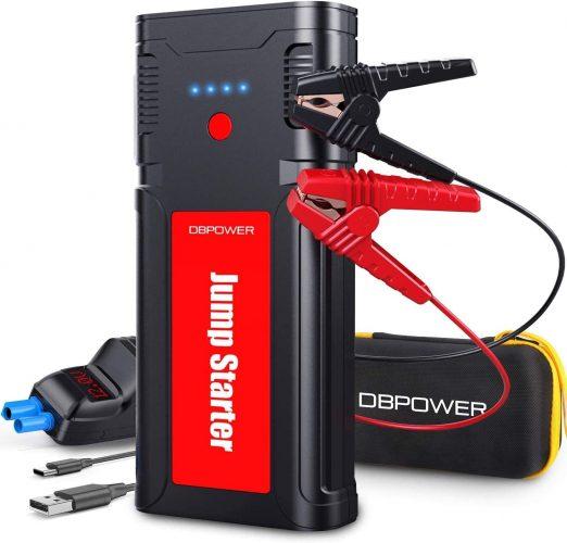 DBPOWER 2500A:21800mAh Portable Car lithium Jump Starter