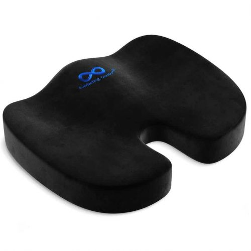 Everlasting Comfort Seat Cushion for Office Chair - Tailbone Cushion - Coccyx Cushion - Sciatica Pillow for Sitting