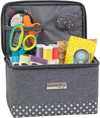 Everything Mary Collaspible Sewing Kit Organizer Box