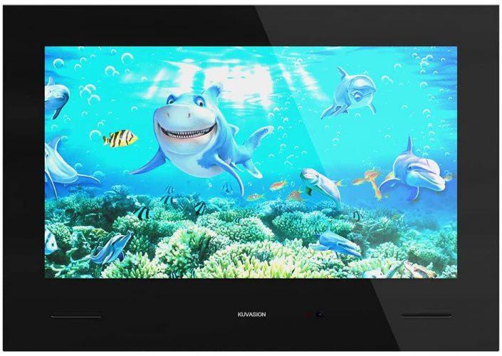 KUVASION Waterproof Smart Bathroom TV