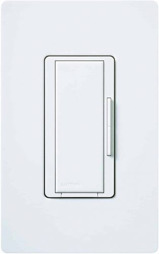 Lutron MA-R-WH Maestro Companion 120V 8.3A Designer Digital Dimmer Switch, White
