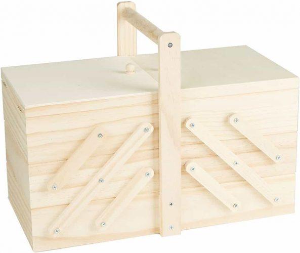 Mind Reader Sewing Box Organizer