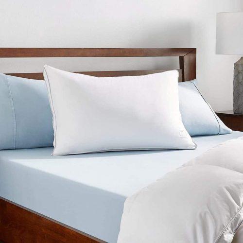 Nikki Chu White Goose Down Pillow Queen