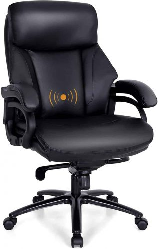 PHI VILLA Office Chair with High Back