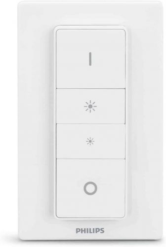 Philips Hue Smart Dimmer Switch and Remote (Requires Hue Hub, Installation-Free, Smart Home, Exclusively for Philips Hue Smart Bulbs)