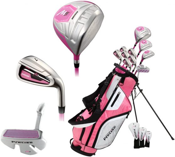 Precise M5 Ladies Womens Complete Right Handed Golf Clubs Set
