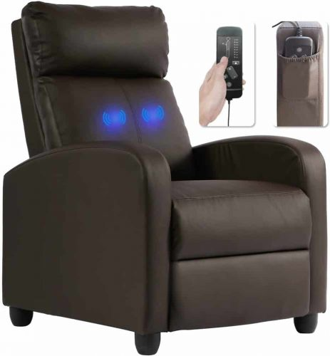 Recliner Chair for Living Room Massage Recliner Sofa Reading Chair Winback