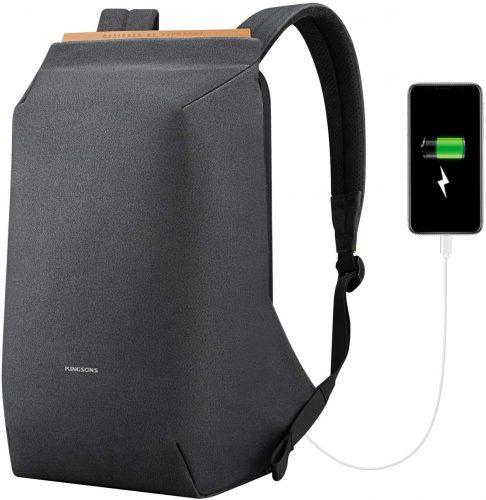 SITHON Slim Lightweight Anti Theft Business Travel Bag