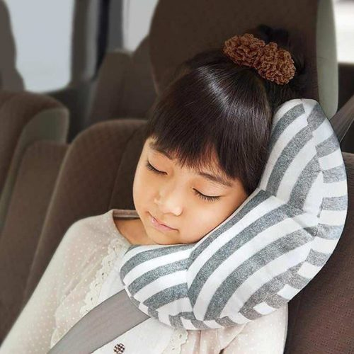 Seat Belt Pillow for Kids, Super Soft Headrest Neck Support Travel Pillow in Car, Universal Carseat Strap Cushion Pads for Child Baby Adults