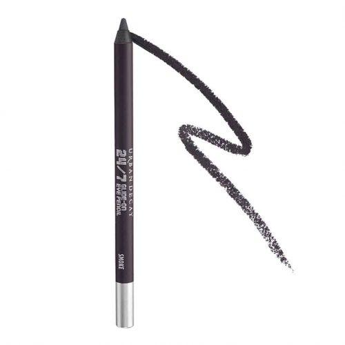 Urban Decay 24/7 Glide-On Eyeliner Pencil, Smoke - Deepest Gray with Matte Finish - Award-Winning, Waterproof Eyeliner