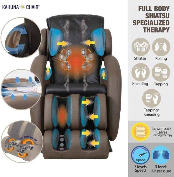 Zero Gravity Full-Body Kahuna best Massage Chair Recliner